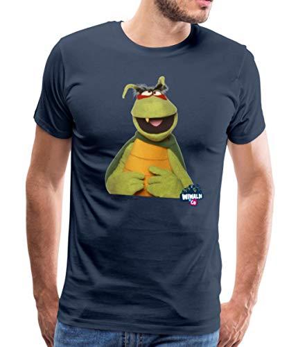 Wiwaldi Und Co Kakerlak Männer Premium T-Shirt, XL, Navy