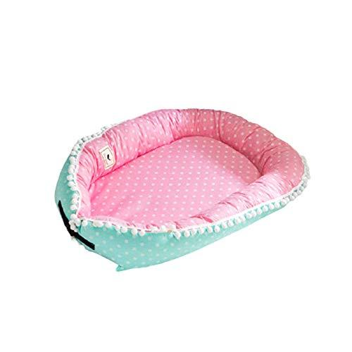 Baby Nest Baby Bionic Bed ReciéN Nacido Tumbona Cama De Bebé Aislada Desmontable PortáTil Cama De ReciéN Nacido En La Cama,D