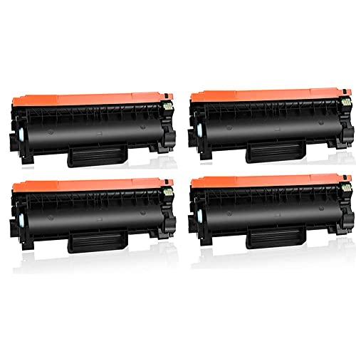 SKSNB Cartucho de tóner Compatible de Repuesto para Brother TN760 TN730, Compatible con HL-L2350DW HL-L2390DW HL-L2395DW DCP-L2550DW MFC-L2710DW MFC-L2750DW Toner Box-4black