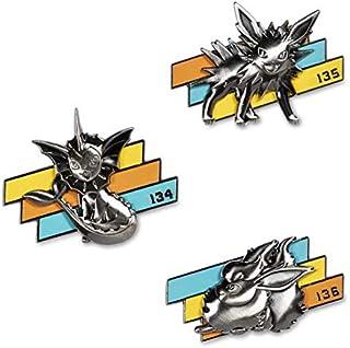 Pokemon PIN Set (3) Better Together - Vaporeon, Jolteon & Flareon