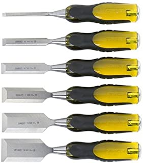 Stanley 16-971 6-Piece FatMax Short Blade Chisel Set
