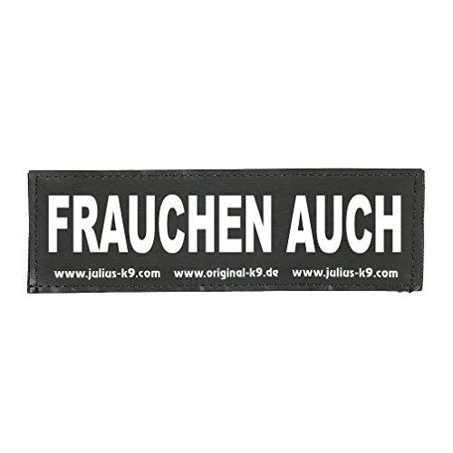 Julius K9 8151540 2 Klettsticker L. Frauchen Auch