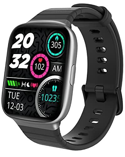 Smartwatch, HolaDream Orologio Fitness Uomo Donna, 1,69   Touch Schermo Smart Watch con Saturimetro (SpO2) Cardiofrequenzimetro Contapassi, Activity Tracker Impermeabile IP68 per Android iOS