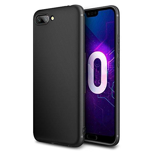 EasyAcc Huawei Honor 10 Custodia in TPU Nero Opaco, morbido TPU Custodia Cover Slim anti scivolo custodia protezione posteriore Cover...