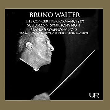 Schumann & Brahms: Orchestral Works (Live)