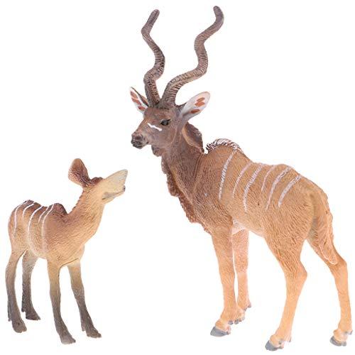 Baoblaze - Tierfiguren für Kinder in Wie Beschrieben, Größe wie beschrieben