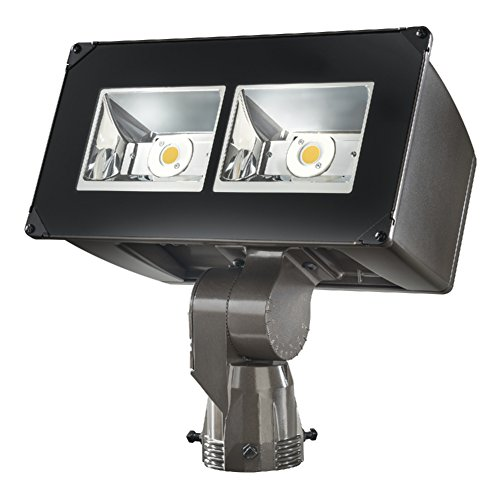 Lumark NFFLD-C25-S Night Falcon 85W Carbon Outdoor Integrated LED Area Light with Slipfitter Mounting, Bronze