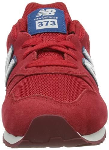 New Balance 373, Zapatillas, Team Red, 32 EU