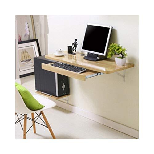 ZKKWLL Laptoptisch Wandmontage Computertisch Multifunktionstisch Familientisch einfacher Schreibtisch Mobiler Klapptisch, D, 80 * 40cm