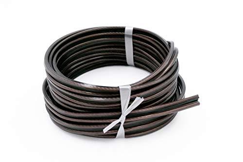Nubert nuCable LS Studioline| Flexibles Lautsprecherkabel| feinster Aufbau aus 0.07 mm dünnen Adern| Querschnitt: 2.5 mm²| Original Nubert Zubehör Made in Germany| Länge: 20 m (2.70 Euro/m)| 1 Ring