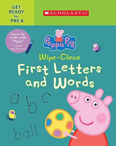 Peppa Pig Wipe Clean First Letters and Words product image