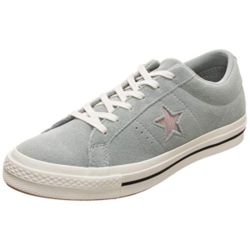 Converse Unisex-Erwachsene Lifestyle One Star Ox Sneakers, Mehrfarbig (Mica Green/Diffused Taupe 317), 39 EU