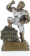 Decade Awards Fantasy Football League Champion Monster Trophy/FFL Winner Beast Award 6.5 Inch Exclusive,gold, silver