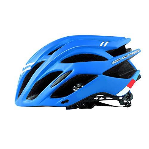 FAGavin Casco de ciclismo integrado para bicicleta de montaña (color: azul)