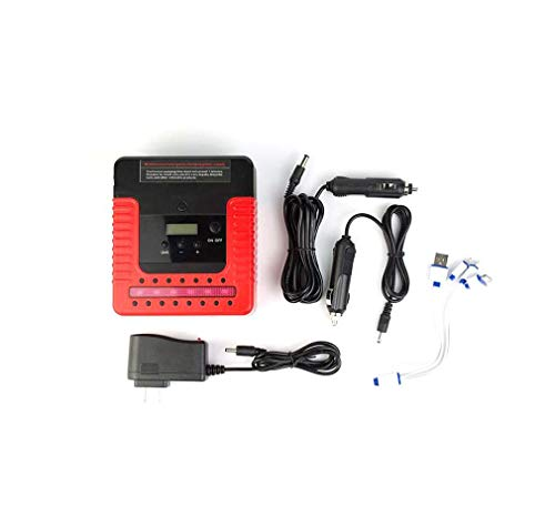 Affordable Jump Starter Pack Battery for Diesel Engines,Mini Air Compressor,Quick-Charger Power Bank...