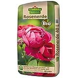 Nachhaltig gärtnern: Bio Rosenerde ohne Torf aus 100 Prozent nachwachsenden Rohstoffen ist ideal für Rosen Rosen sind Tiefwurzler, Erde 10 cm unter den Wurzelballen ausbringen TORFFREI: durch den Abbau von Torf wird der Lebensraum von vielen Tier- un...