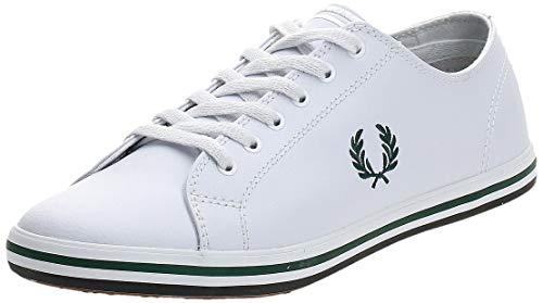 Fred Perry Kingston Leather B7163100, Scarpe Sportive - 44 EU