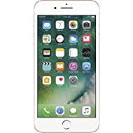 Apple iPhone 7 Plus, GSM Unlocked, 256GB - Rose Gold (Renewed)