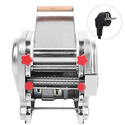 Máquina para hacer pasta eléctrica, máquina para hacer pasta de acero inoxidable para el restaurante casero comercial EU 220V