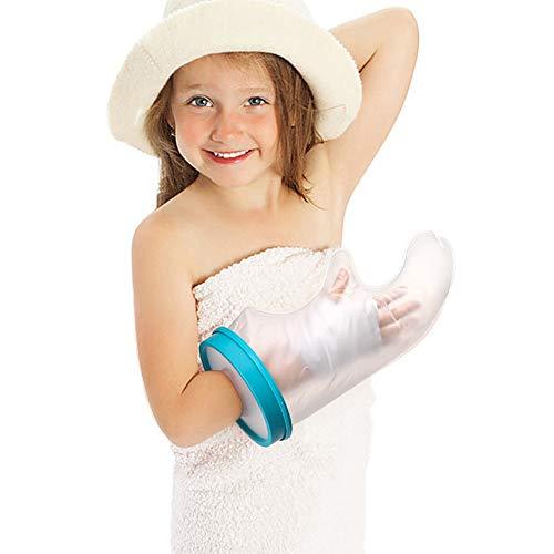 Doact pleisterhoes voor douches, waterdichte pleisterbescherming voor kinderen Herbruikbare pols gips mouwzak Houd het verband droog voor kinderhanden, vingers, wonden, brandend