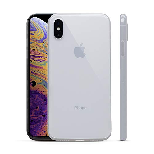 PEEL Ultra Thin iPhone Xs Case, Clear - Minimalist Design | Branding Free | Protects and Showcases Your Apple iPhone Xs