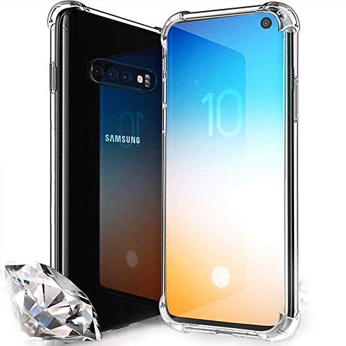 Capa Case Anti Shock Anti Impactos Samsung Galaxy S10 Normal - Transparente