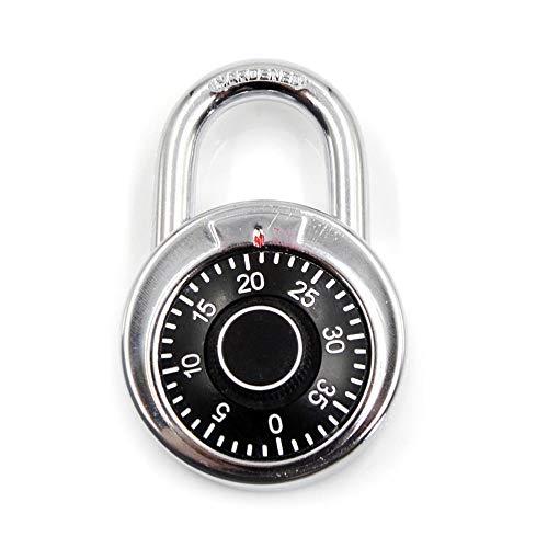 Lock Pad Roterende Hangslot Digit Combinatie Code Lock Safe Ronde Wijzerplaat Aantal Bagage Koffer Beveiliging Fiets Koffer