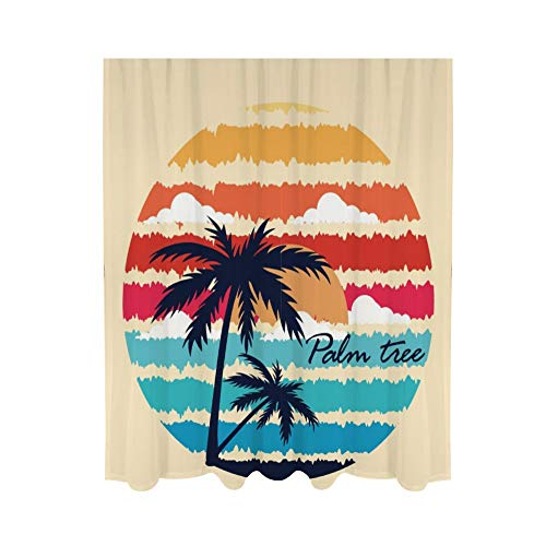 cortinas comedor palmeras