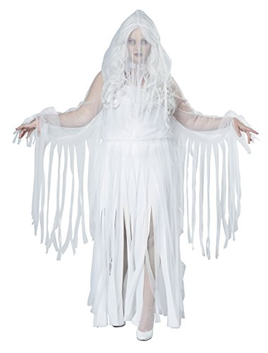 California Costumes womens Plus-size Ghostly Spirit Adult Sized Costume, White, XX-Large US
