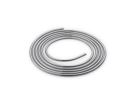 Schell Tube en cuivre en forme de bague, 8 x 5000 mm, chrome, 487400699