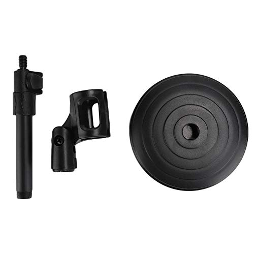 GAESHOW PC-02 Base de hierro Ángulo ajustable Impermeable y resistente al desgaste Soporte de micrófono de sobremesa ABS