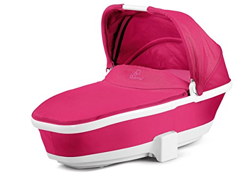 Quinny 76909230 Faltbarer Kinderwagenaufsatz für Buzz, Buzz Xtra und Moodd, pink passion
