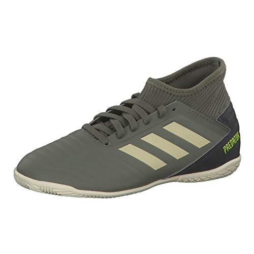 adidas Predator 19.3 In J Fußballschuhe, Verleg/Arena/Amasol, 38 EU