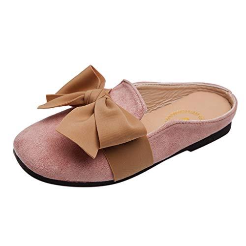 WEXCV Babyschuhe Mädchen Bowknot Prinzessin Schuhe Pantoffeln Sommer Elegant Modisch Süß Baby Hausschuhe Lauflernschuhe