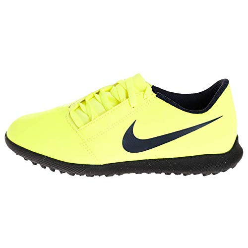 Nike Jr. Phantom Venom Club TF, Botas de fútbol Unisex Adulto, Verde (Volt/Obsidian/Volt 717), 37.5 EU