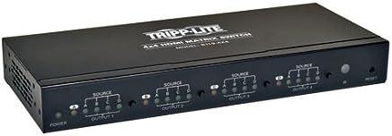 Tripp Lite B119-4X4 HDMI - Switch de vídeo (657.7 g, 233.7 x 99.1 x 30.5 mm, 100-240V, 50/60Hz, TAA)