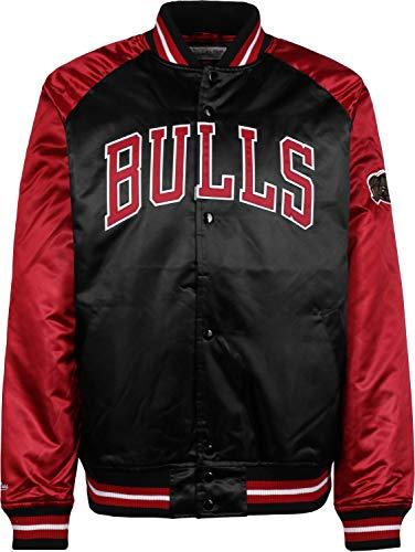 Mitchell & Ness Tough Season Satin College Jacket Chicago Bulls (M)
