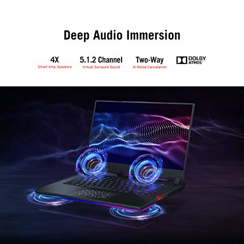 ASUS ROGStrixScar 15 (2021), 15.6-inch (39.62 cms) FHD 300Hz/3ms, AMD Ryzen95900HX, GeForceRTX3080 8GB Graphics, Gaming Laptop(16GB/1TB SSD/Office2019/Windows 10/Black/2.3 Kg), G533QS-HF210TS