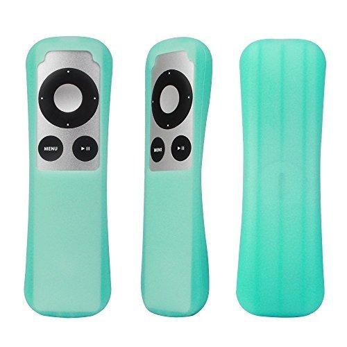 SIKAI CASE Funda Control Remoto para Apple TV 2 3, amigable con la Piel, antipérdida con Bucle (Azul Luminoso)