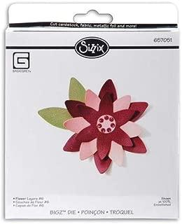Sizzix Bigz BIGkick/Big Shot Die by Basic Grey, Flower Layers No.6