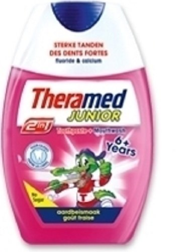 Theramed 2 In 1 Junior 6 Jaar+, 75 Ml