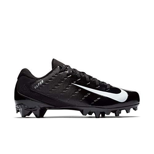 Nike Men's Vapor Untouchable Varsity 3 TD Football Cleat (Black/White/Anthracite, 10)