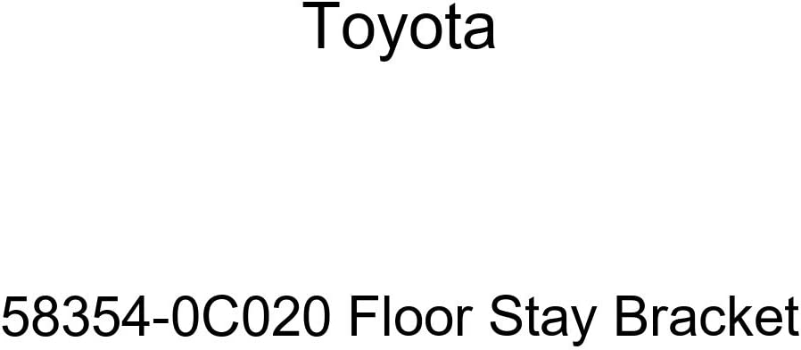 Genuine Toyota 58354-0C020 Stay Don't miss the campaign Floor Sale Special Price Bracket
