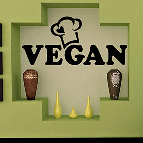 Gesundes Leben Wandaufkleber Gemüse Natur Flora Food Art Room Decor Abnehmbare Vegan Wandtattoos...
