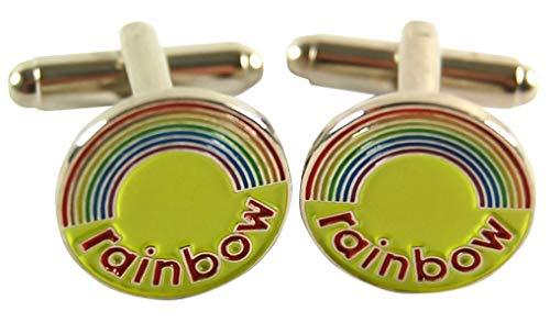 Official Rainbow Logo Cufflinks