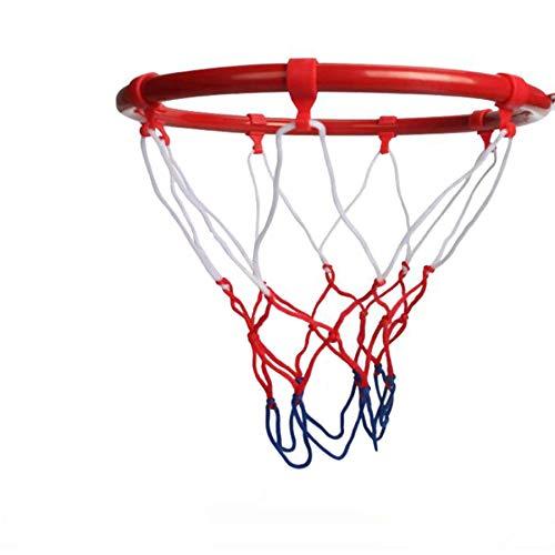 Georgie Porgy Handgemachte Metall Basketballkorb, Rustikale Basketballtor, Mini-Basketballkorb Man Cave Hoop, Office Hoop Classic Rustikal für Büro Kinderzimmer (Basketballkorb 25CM)