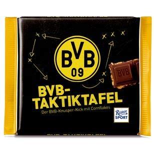 BVB Borussia Dortmund Schokolade / Schokoladentafel ** Taktiktafel **