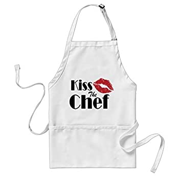Sunningq Kiss The Chef Adult Apron