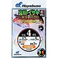 ハヤブサ(Hayabusa) 海戦 真鯛・イサキ 4m2本鈎 12-5