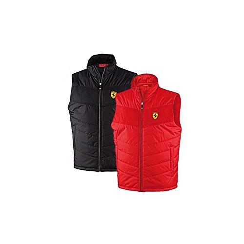 Ferrari Gilet pour homme rembourré Rouge Taille XL